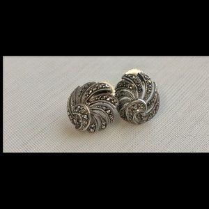 Vintage Sterling Silver BIRKS Earrings